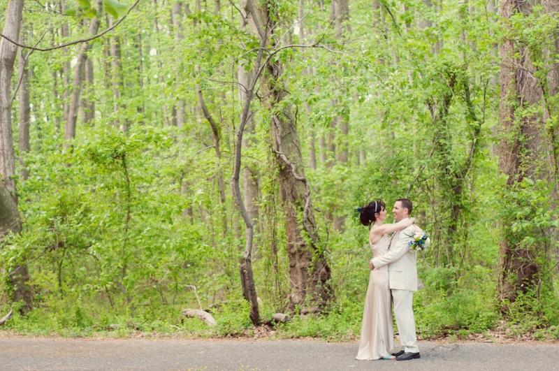 Laidback State Park Wedding in Maryland // Gabi & Marc