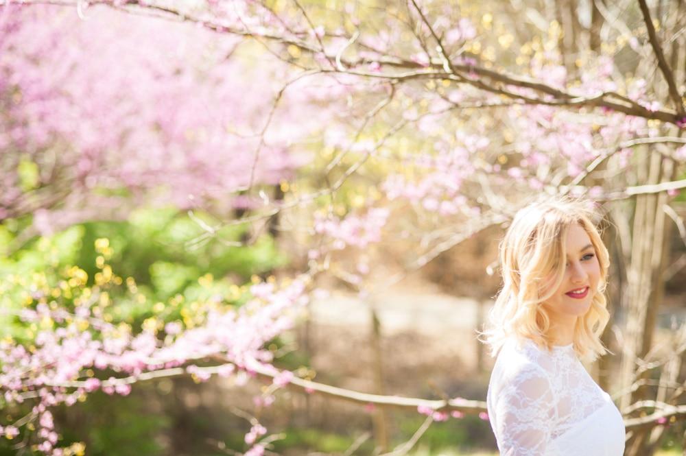 Springtime Bridal Portraits Styled Shoot