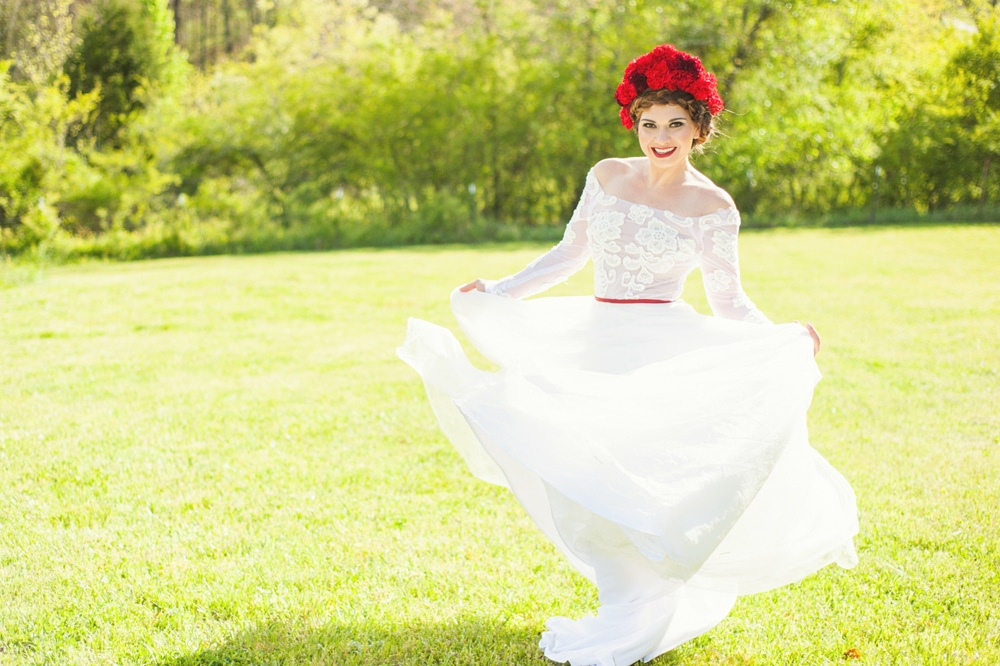 Eastern European Folklore Wedding Inspiration & Styled Shoot