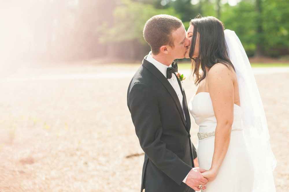 Country Club Wedding Photography in North Carolina // Kylie & Michael