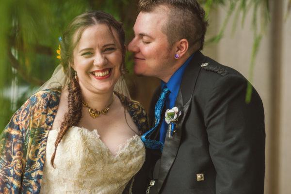 doctor who wedding couple