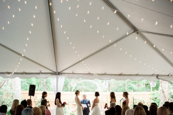 two bride ceremony