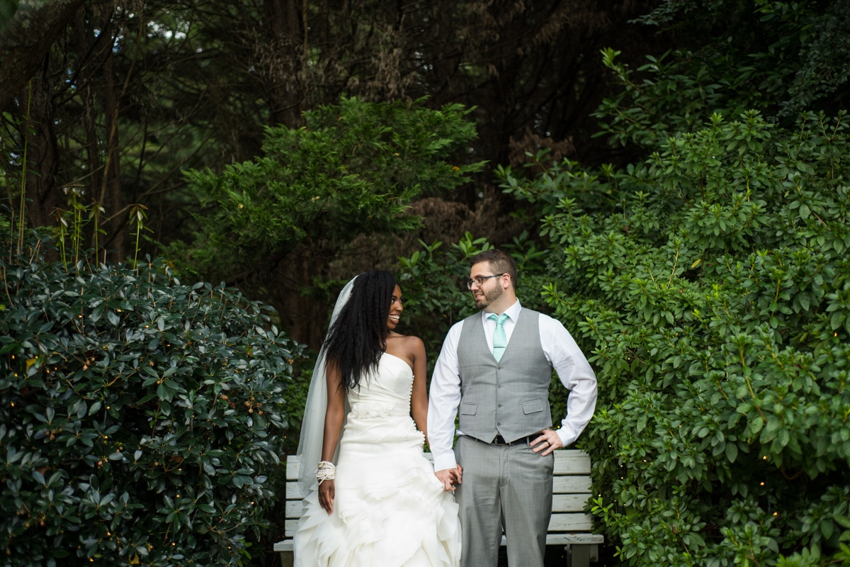 Garden Wedding Near Atlanta, GA // Casey & Tiyona