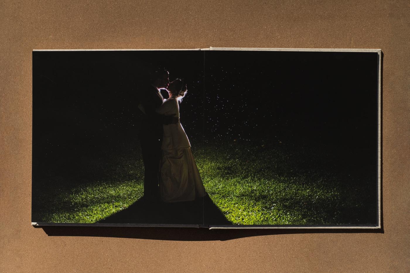 album flatlay by Ga wedding photographer