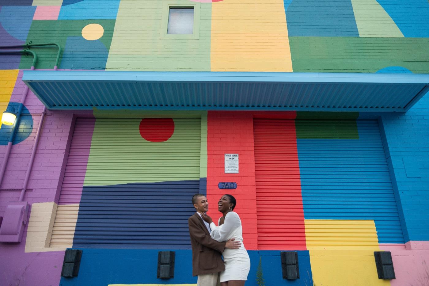Simar & Elias's Colorful Atlanta Portrait Session