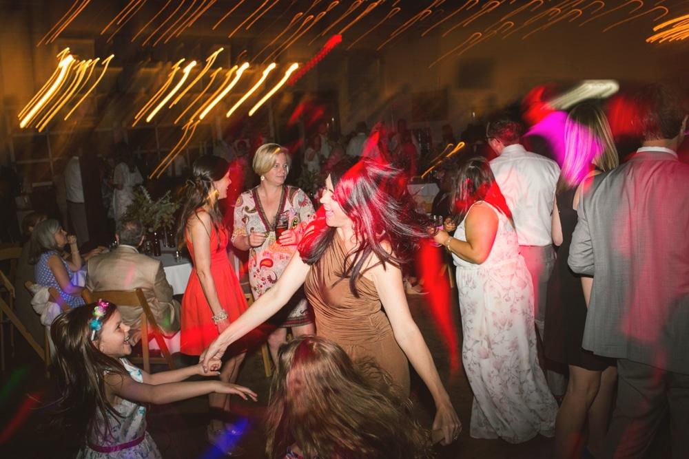 dancing during Atlanta wedding reception