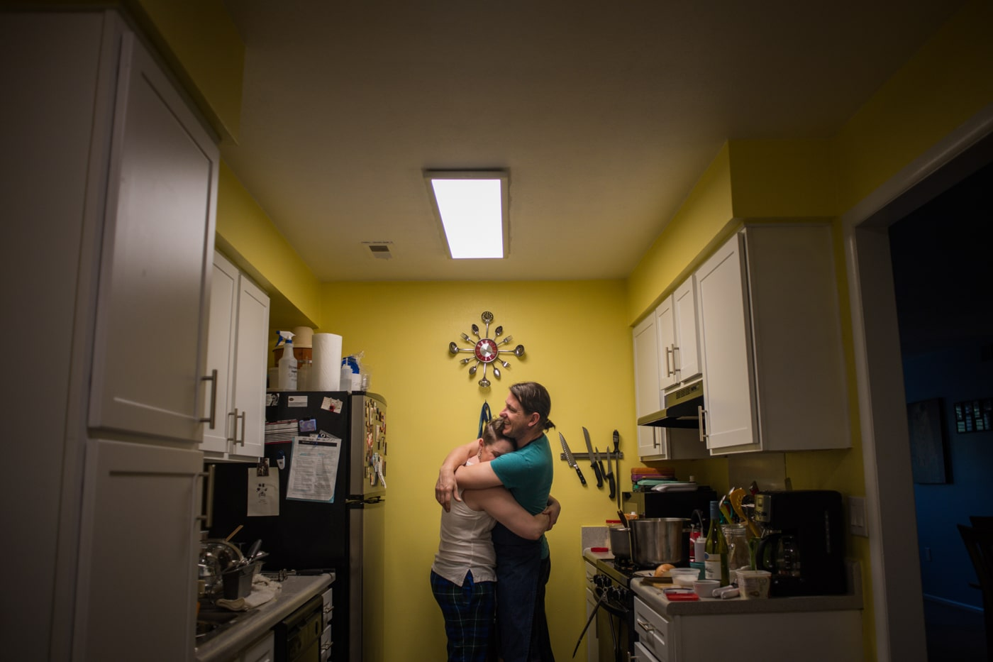 Sabina & Randolph's Cooking In-Home Engagement Session in Charlotte