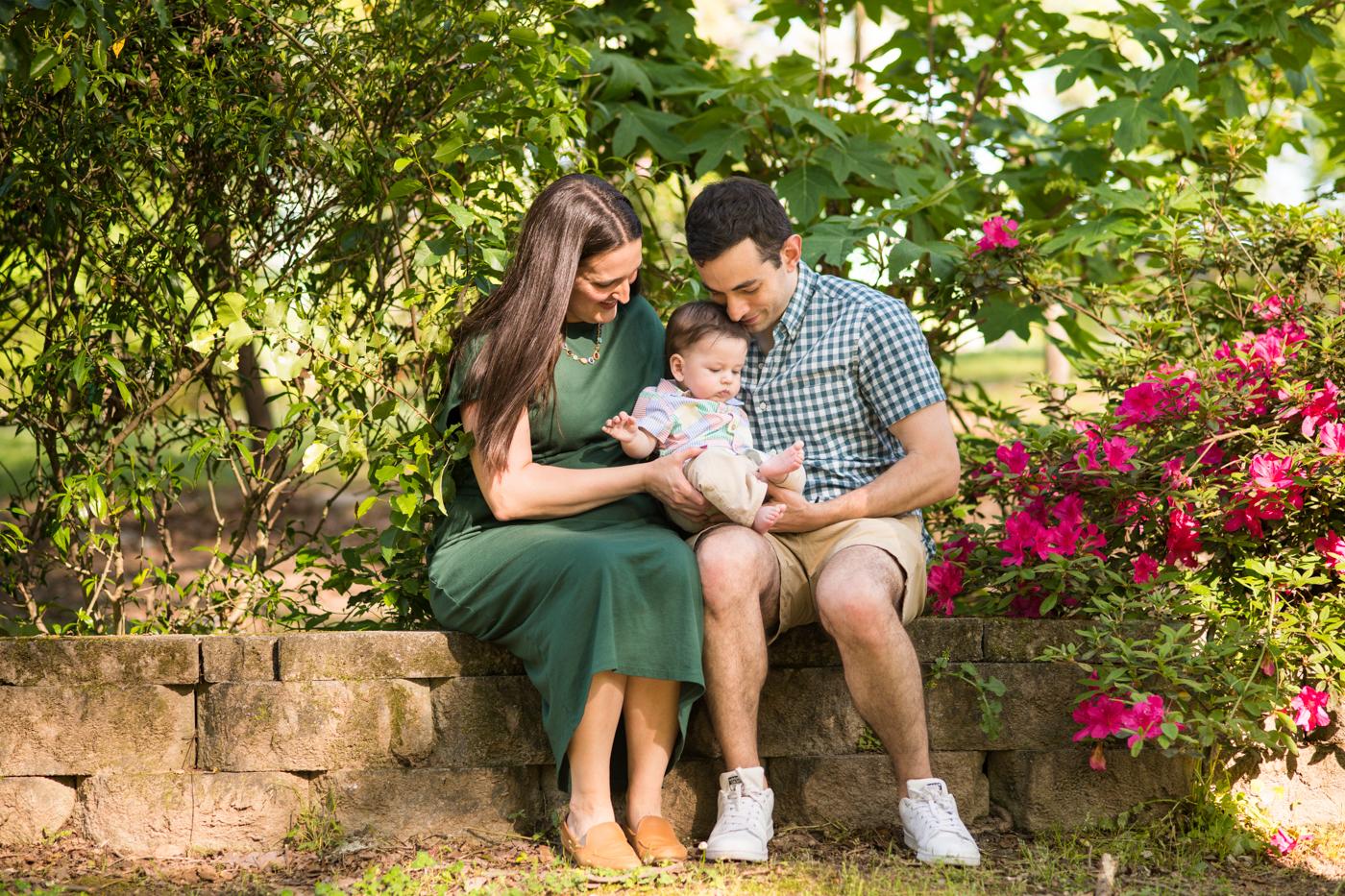 Lifestyle Family Photos in Atlanta Backyard // Jonathan and Marianna's Family