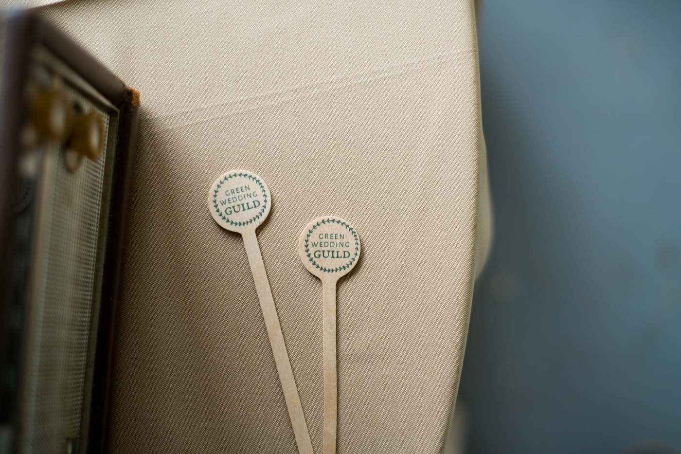 signs for Green Wedding Guild styled shoot