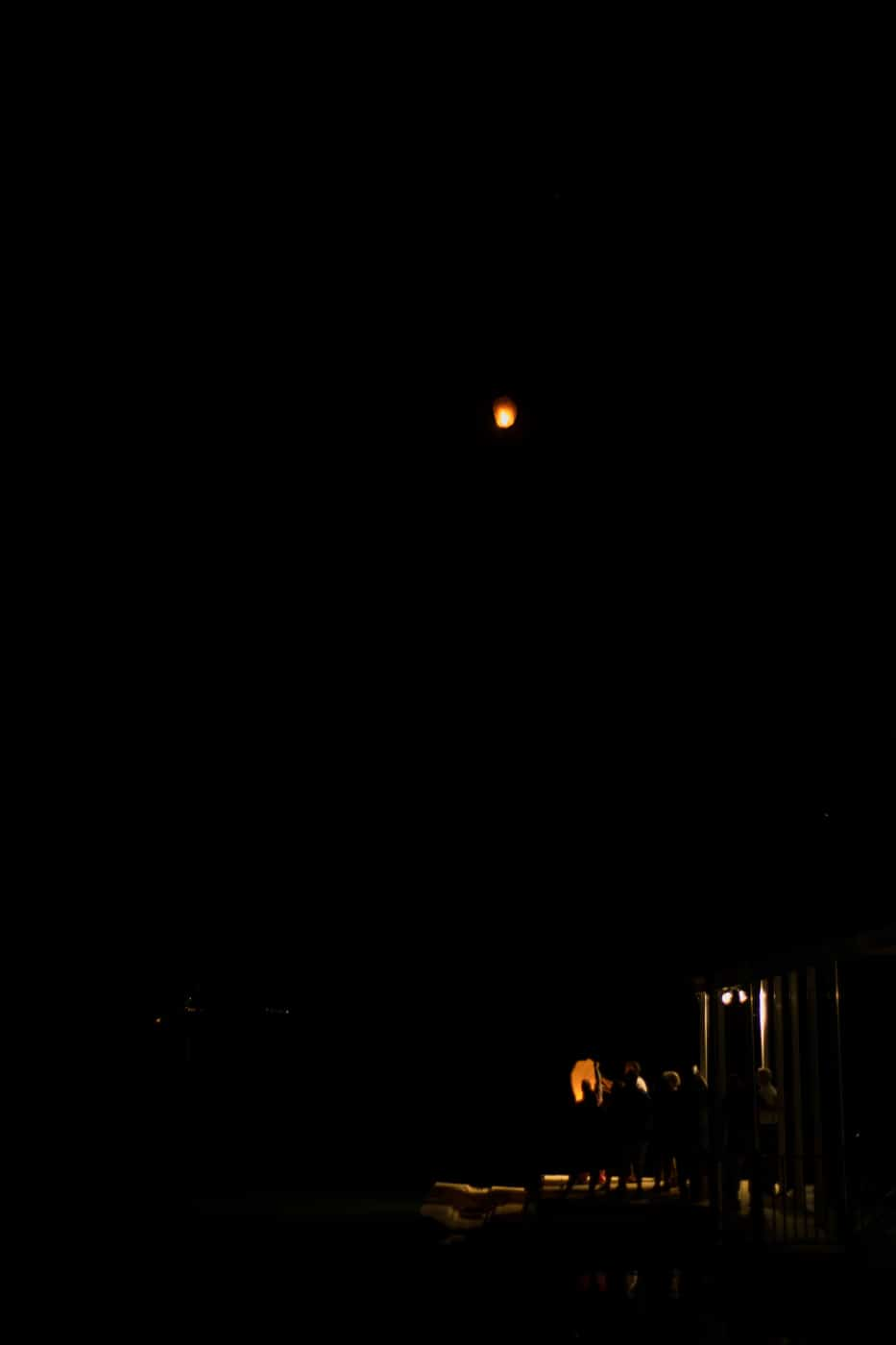 family releases memorial lanterns